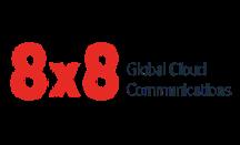 8x8 Global Cloud Communications Logo